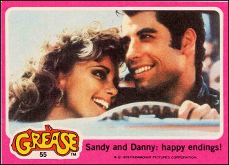 Image result for grease cards
